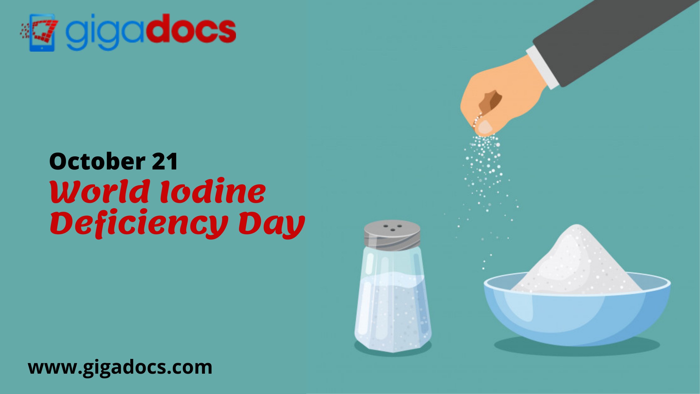Micronutrient Deficiencies Cure: World Iodine Deficiency Day