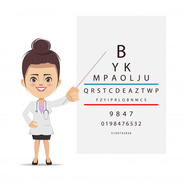Some eye problems like eye dryness may be minor