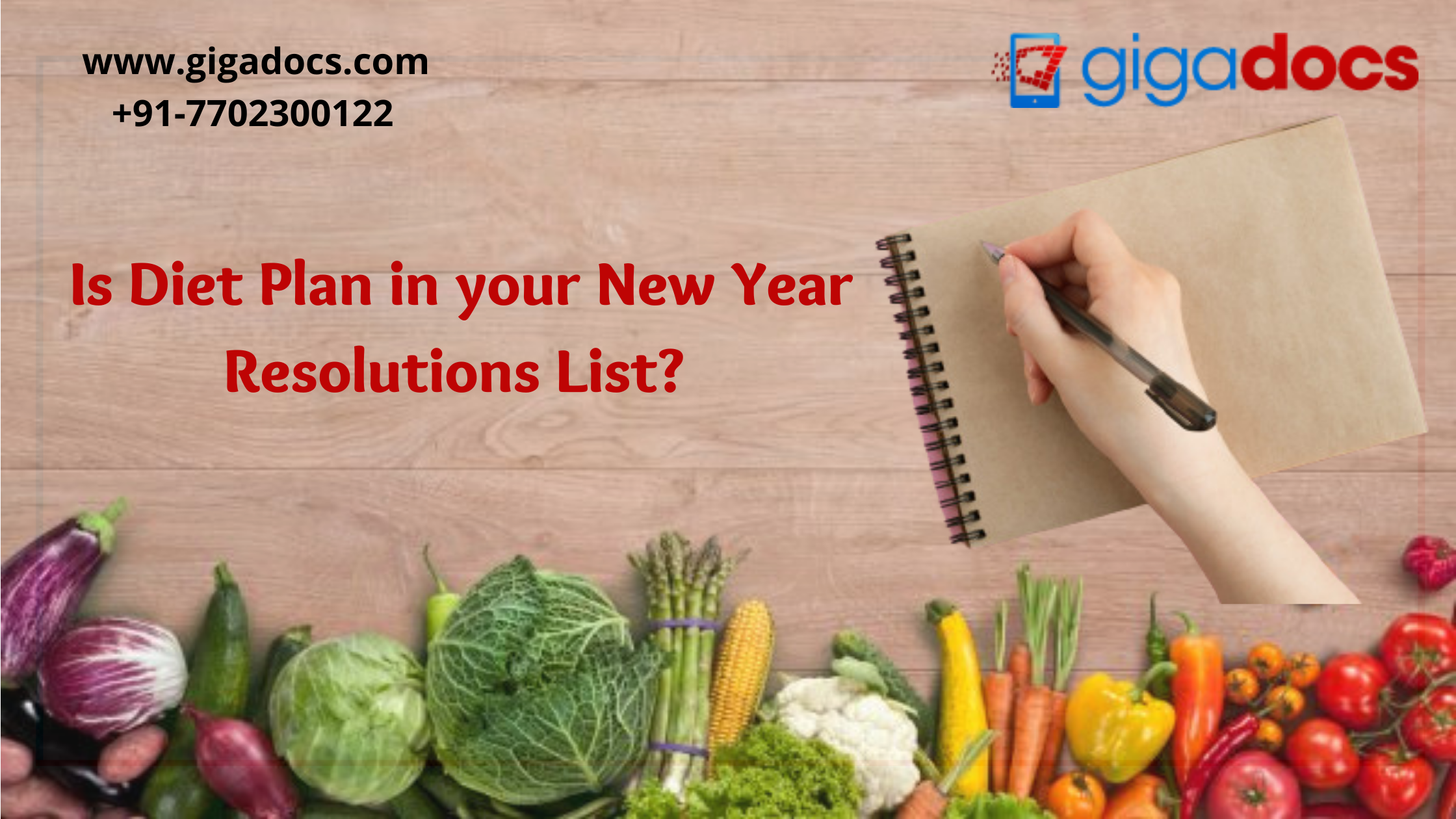 Is Diet Plan in your New Year Resolutions List?