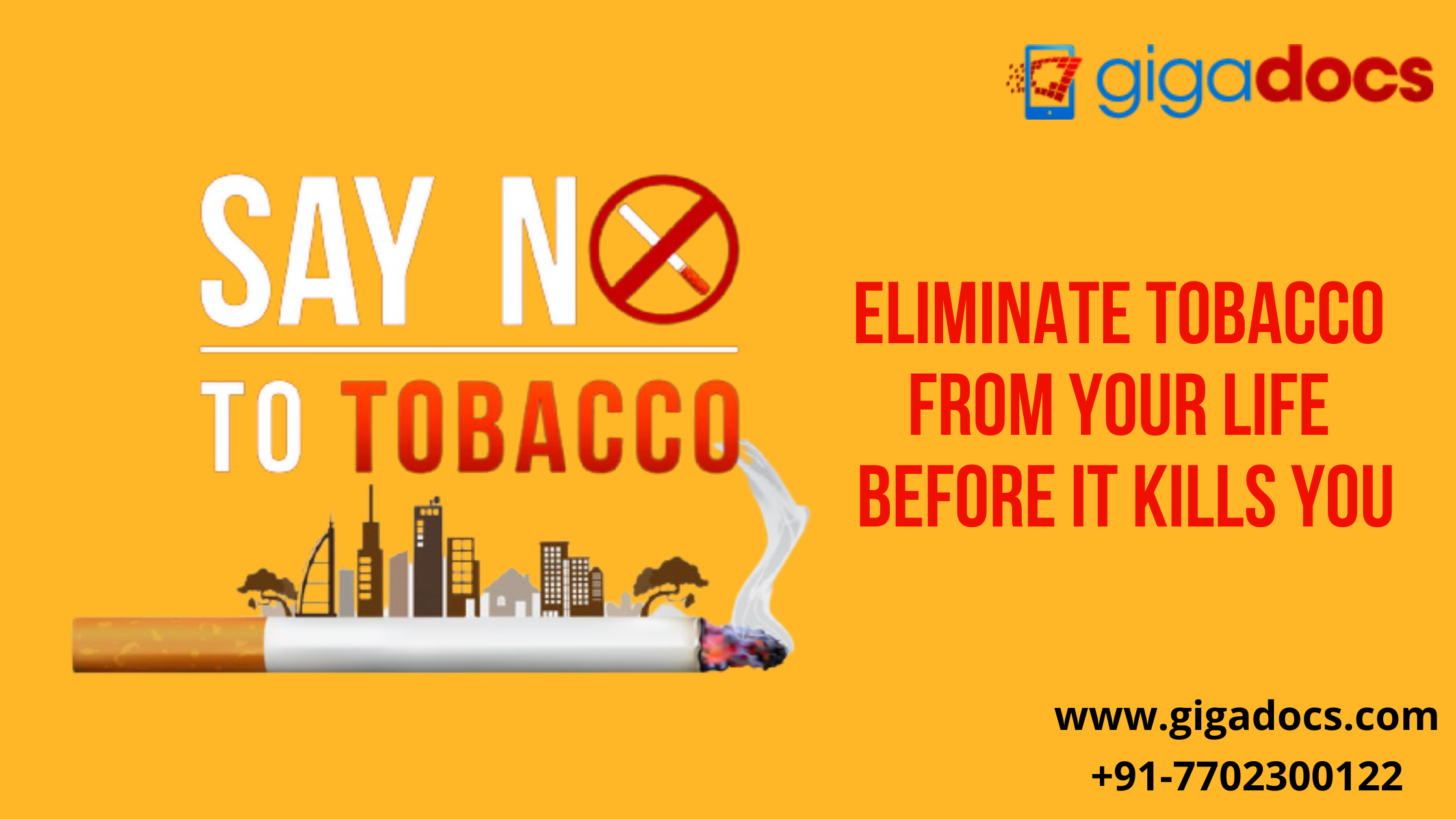 No Smoking Day- Quit Smoking to Win over the Covid Pandemic