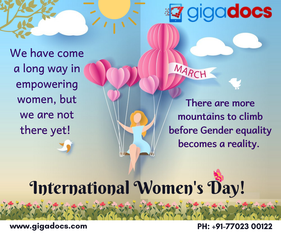 We have come a long way in empowering women, but we are not there yet! There are more mountains to climb before Gender equality becomes a reality. Keep Pushing, keep appreciating! (1)