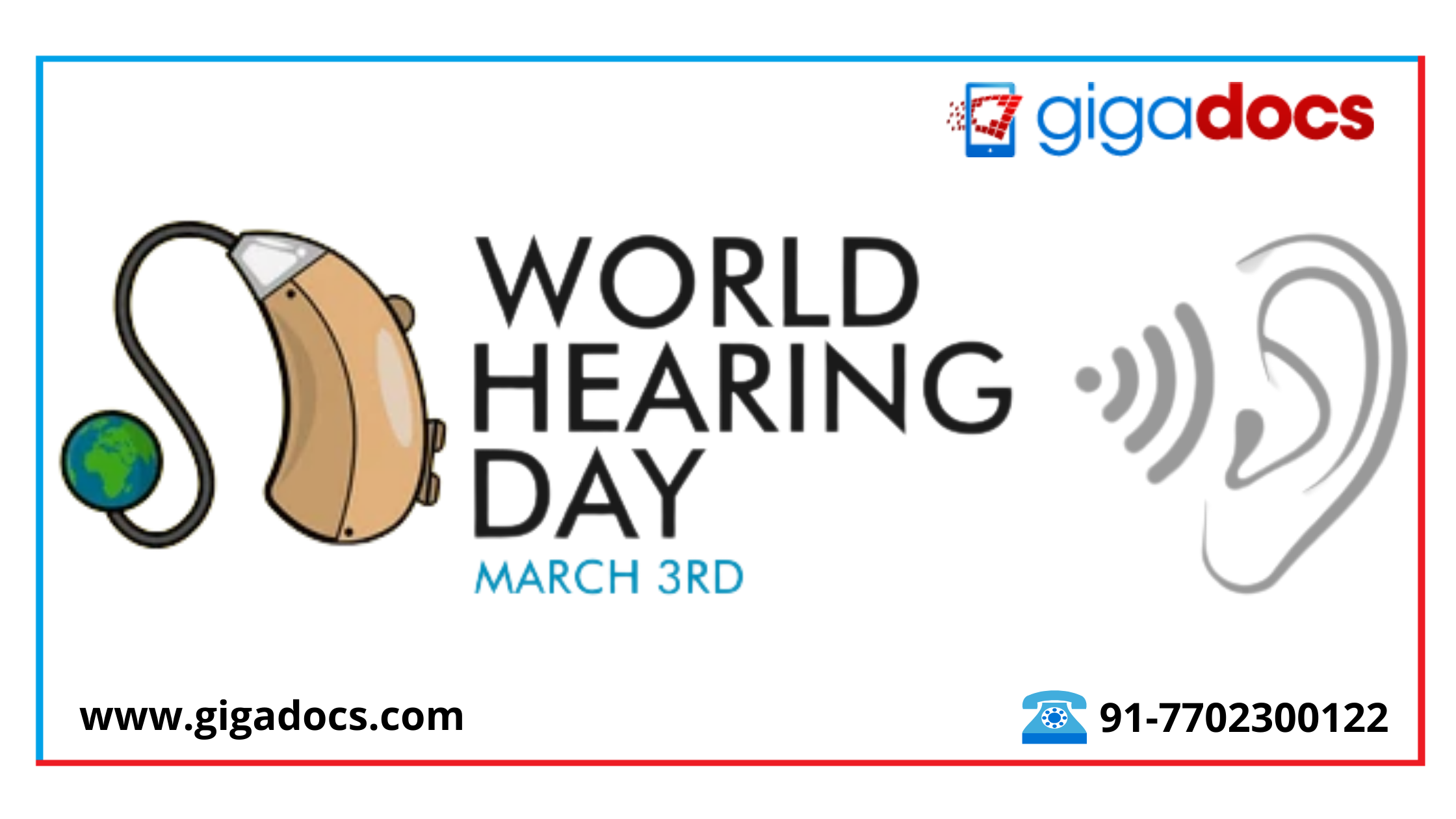World Hearing Day:  Ear Cleaning Tips to Cure Ear Pain