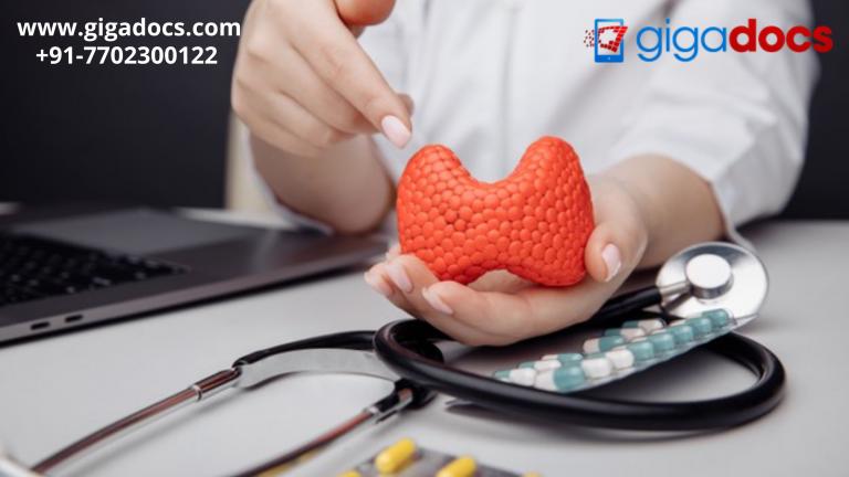 How does thyroid test diagnose the thyroid gland